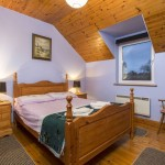 Bedroom of self catering cottage