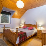 Bedroom of self catering holiday home