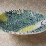 Textured bowl Mount Brandon Pottery
