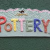 finally the long overdue sign for the pottery