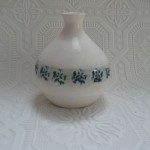 Embossed vase Mount Brandon Pottery