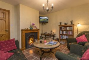 Sitting Room of Mount Brandon Self Catering