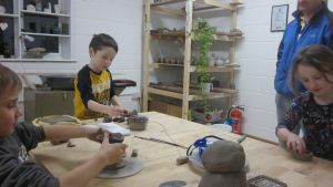 Childrens Pottery Class